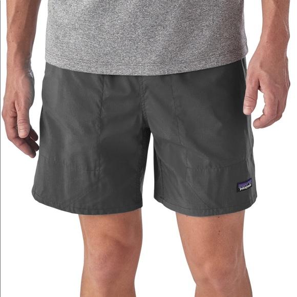 "8643c5aa5ce9 Patagonia Baggies Shorts Forge Grey 5"" Mens Large"